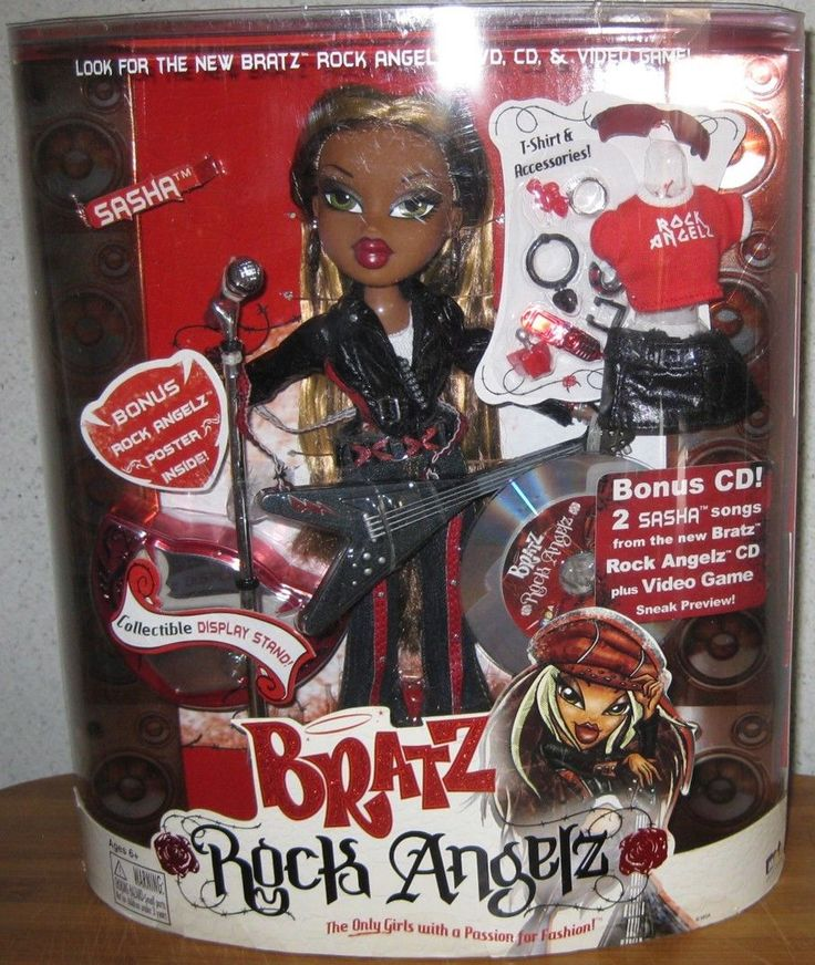 Bratz Rock Angelz Sasha 2005 Brand New in Box | eBay