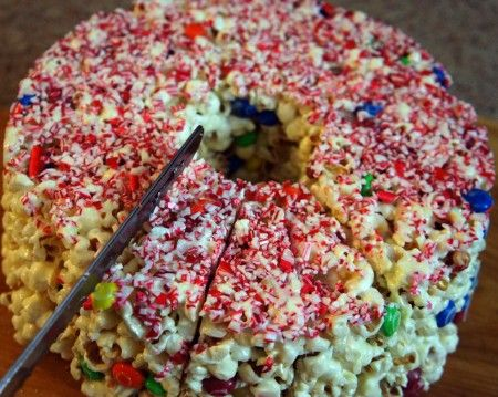 Popcorn Cake for kids of all ages!