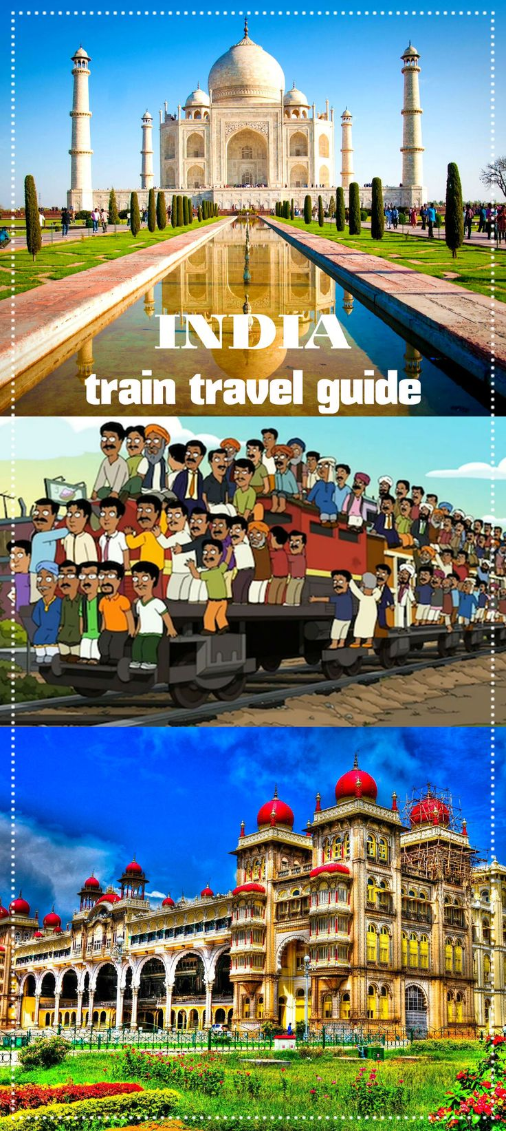 Complete guide to travel India by train. All you need to know; how to buy tickets, different classes, budget, need to know, long distance trains, tips.
