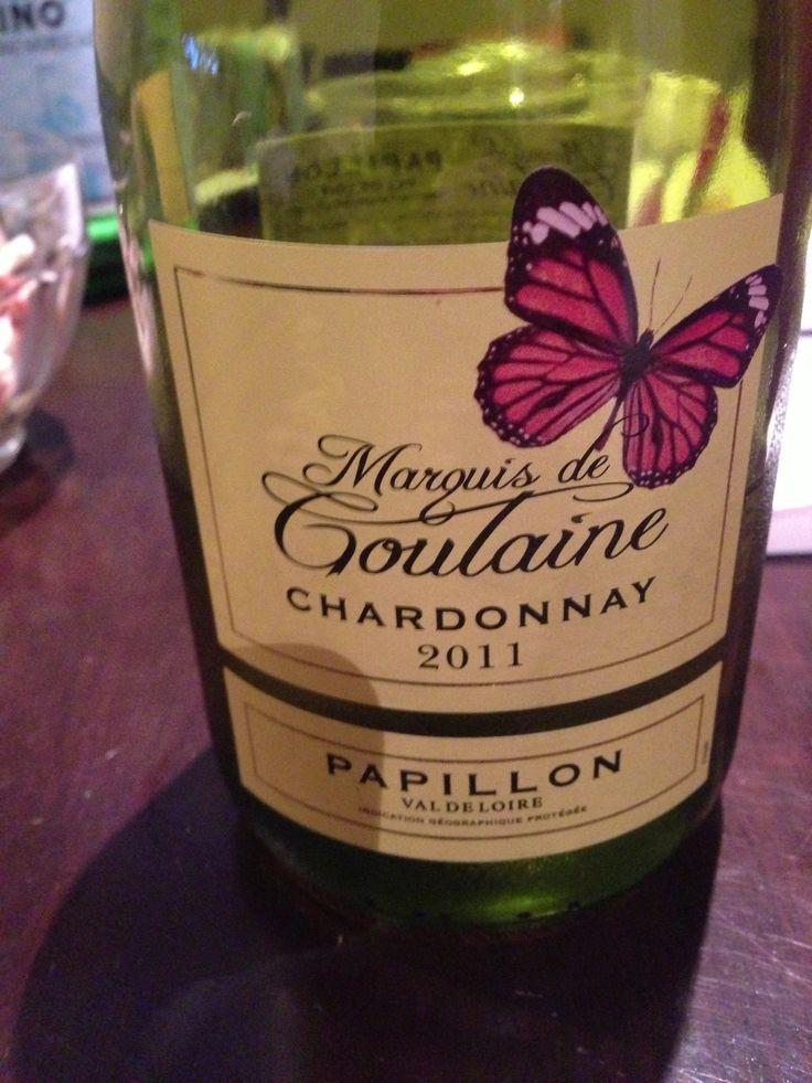 Marquis de Chardonnay, idéal pour un lunch du lundi de la fête du travail!