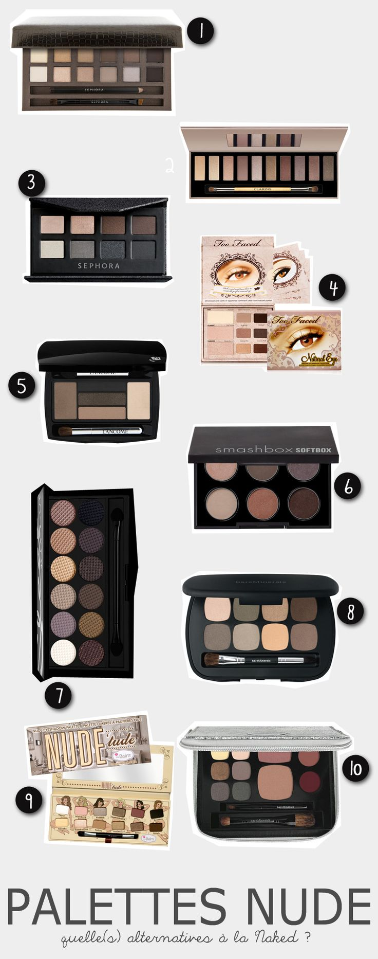 Palette(s) Naked Urban Decay : quelle(s) alternative(s) ? » Babillages
