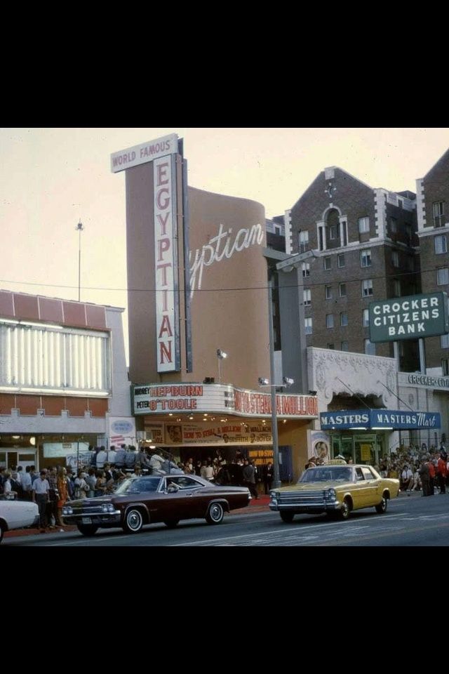 Egyptian Theater Hollywood Blvd.