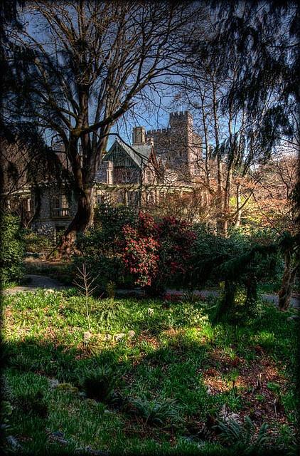 Hatley Castle, Vancouver Island, BC, Canada