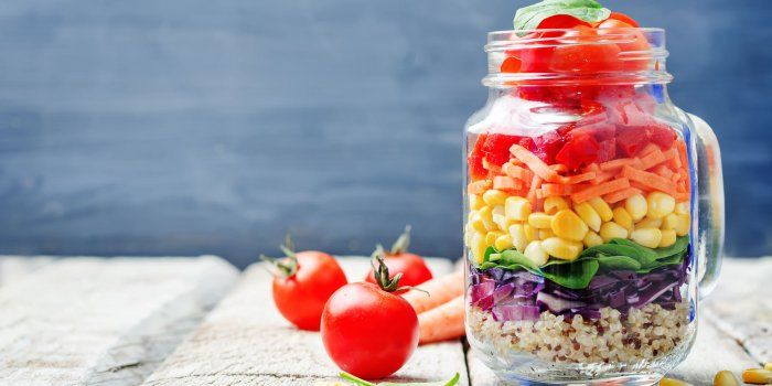Salade Jar ou Salade en bocal: la nouvelle tendance healthy