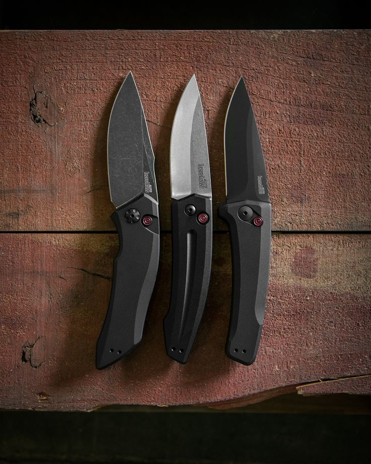 The Kershaw Launch 1, Launch 2, and Launch 3 Automatic Knives
