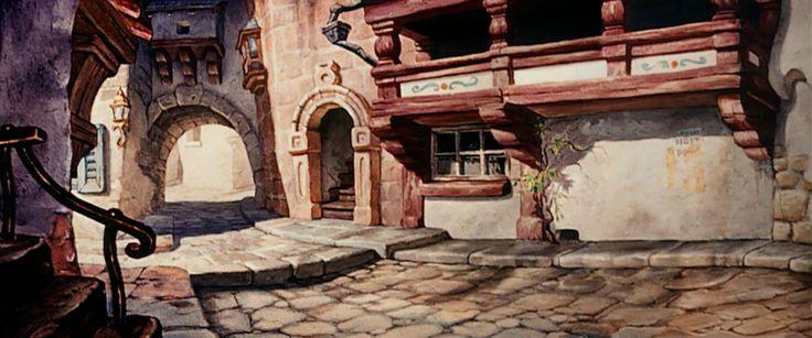 Empty-Backdrop-from-Pinocchio-disney