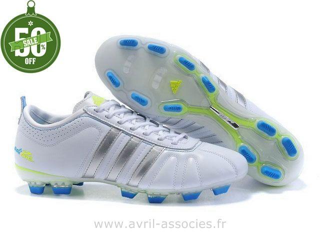 Boutique Chaussures de foot adidas adipure IV TRX FG Blanc Argent (Adidas Predator Trx Fg)