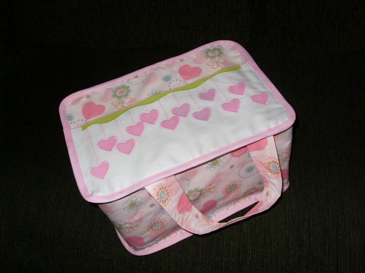 Capa para caixa de isopor  www.elo7.com.br/cacarecos