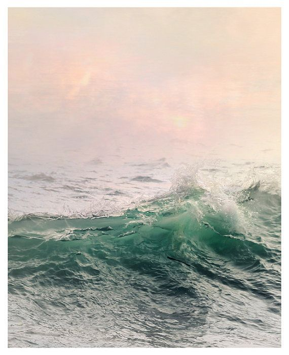 Large Ocean Wall Art Water Landscape Photography Prints Sea Etsy Ocean Waves Art Ocean Wall Art Sea Wall Art