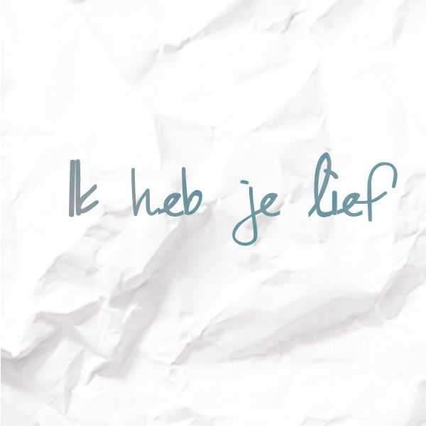 Quote by singer-songwriter Stef Bos: it says everything in just 4 words ❤️