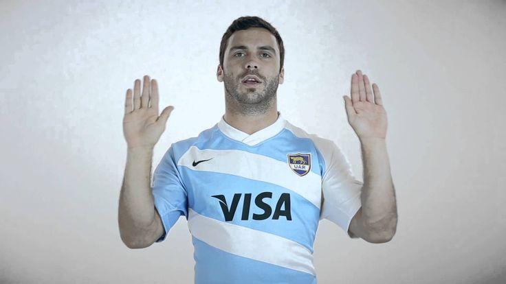 Himno Nacional Argentino interpretado en lengua de señas por LosPumas, L...
