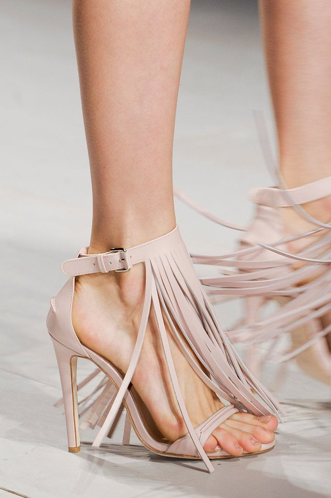 These might be the most amazing shoes...fringe heels