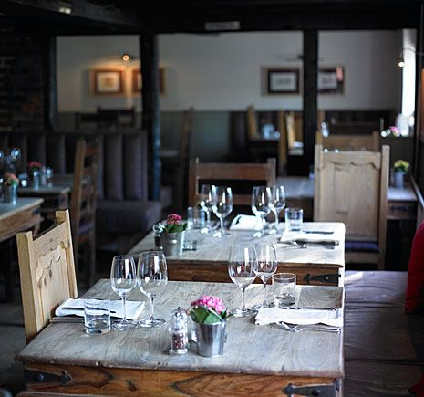 Hand and Flowers: one of the finest places to dine, Marlow, Buckingam, United Kingdom    Does Mila Kunis know she's my plus 1? #5weekstogo