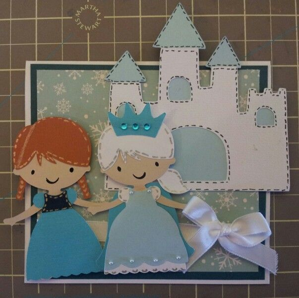 Frozen, create a friend card.