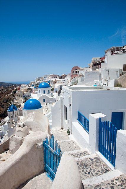 santorini, greece  #vacation