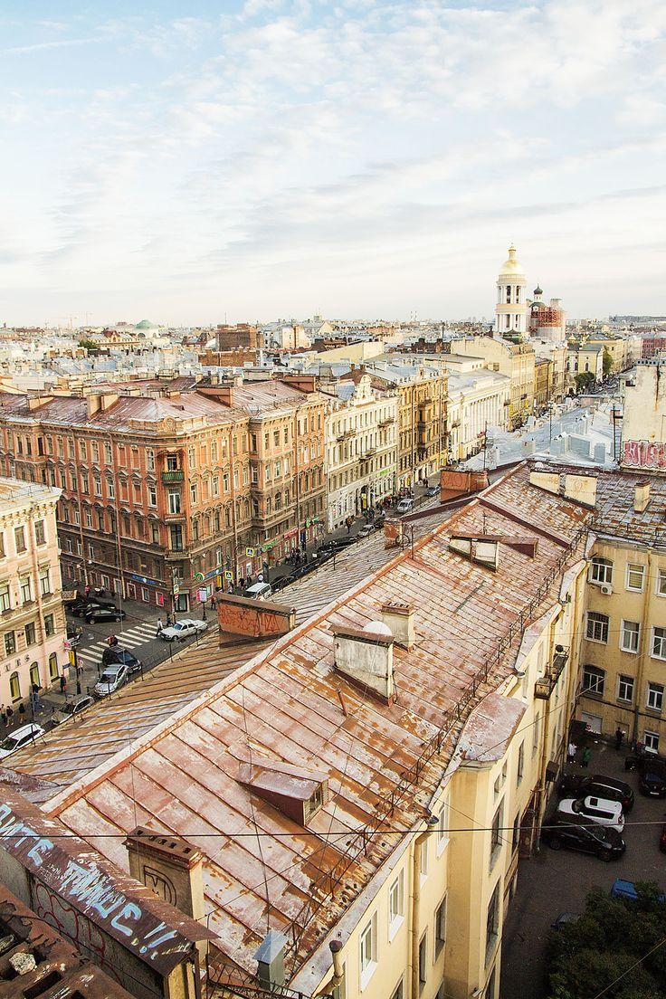 Rooftop tour in St. Petersburg / Nevsky prospekt