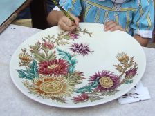 Porcelain Zsolnay paint, Hungary