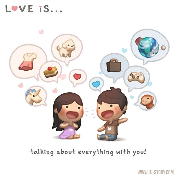 A good communication is always part of a healthy relationship! Not only that, it's FUN (even though sometimes it can result in some arguments)