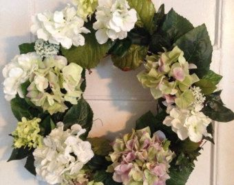 Daisy Wreath Summer Spring Wreath Front Door door FloralXchange