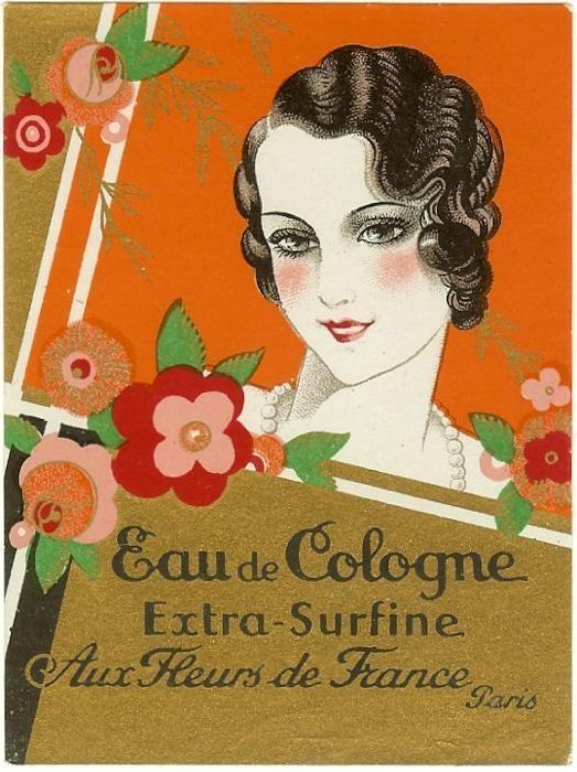 Lovely perfume ad