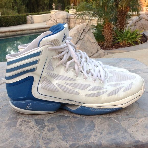 Adidas Basketball Shoes Basketball shoes still in very good shape. Great sole and clean on the inside. Adidas Shoes Athletic Shoes