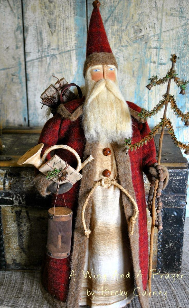 On a wing and a prayer shop santa claus pinterest for Pinterest decoracion navidad