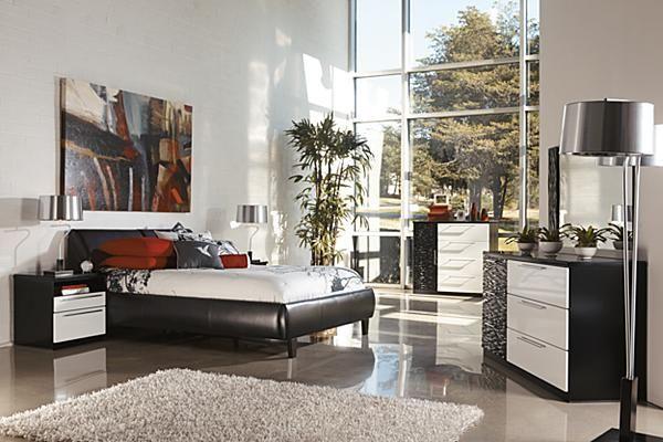 Zenfield Bedroom Bench High gloss Bedrooms and Nightstands