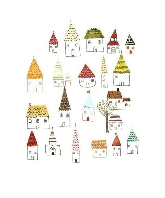 little houses.