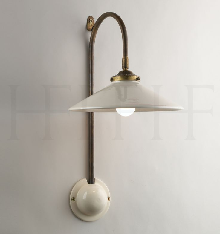 French Ceramic Wall Light by Hector Finch