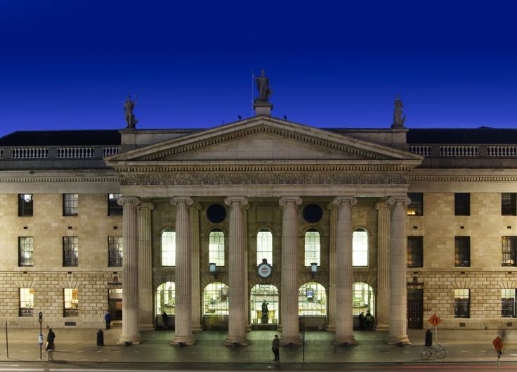 GENERAL POST OFFICE, DUBLIN  Here's a photo of the GPO itself, where all that…