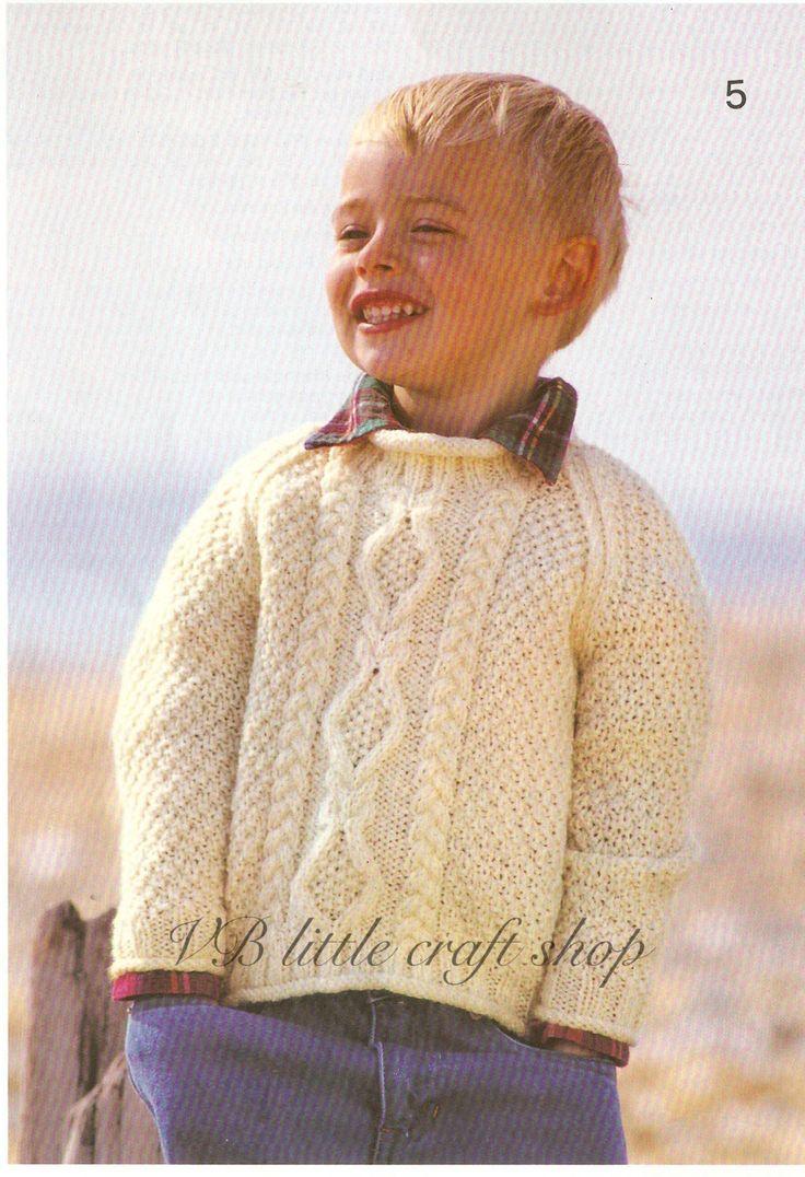 80 best aran knitting patterns collection images on Pinterest   Aran ...
