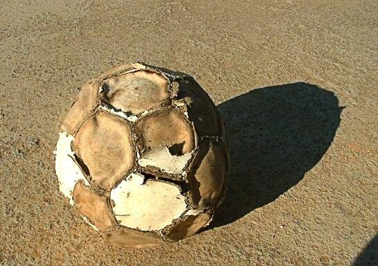 Mi pelota de chico!!!