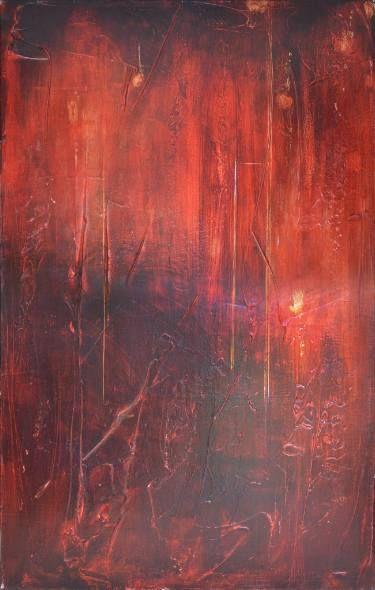 "Saatchi Art Artist Angel F Matamoros; Painting, ""Rincón de la Vieja"" #art"