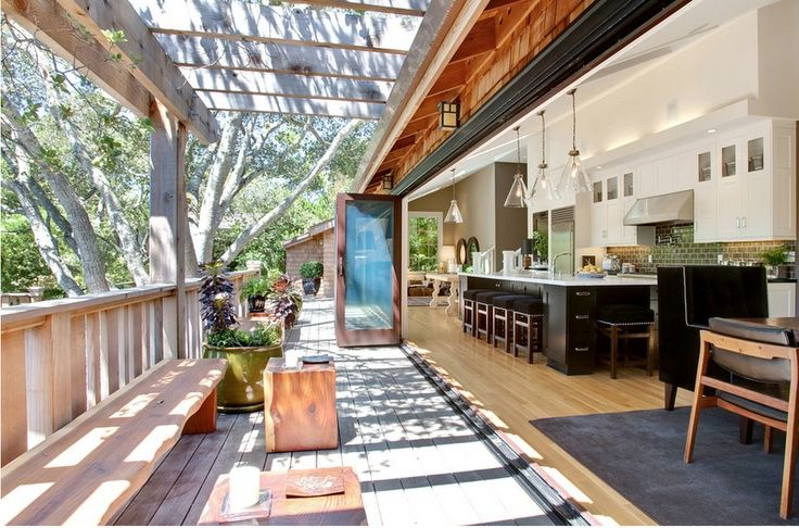 kitchen opens to outdoors - Google Search