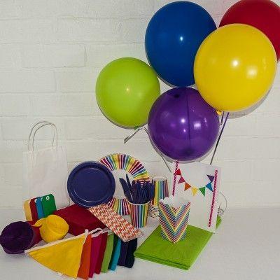 Rainbow Wonderland Package http://www.qualitytimepartysupplies.com.au/