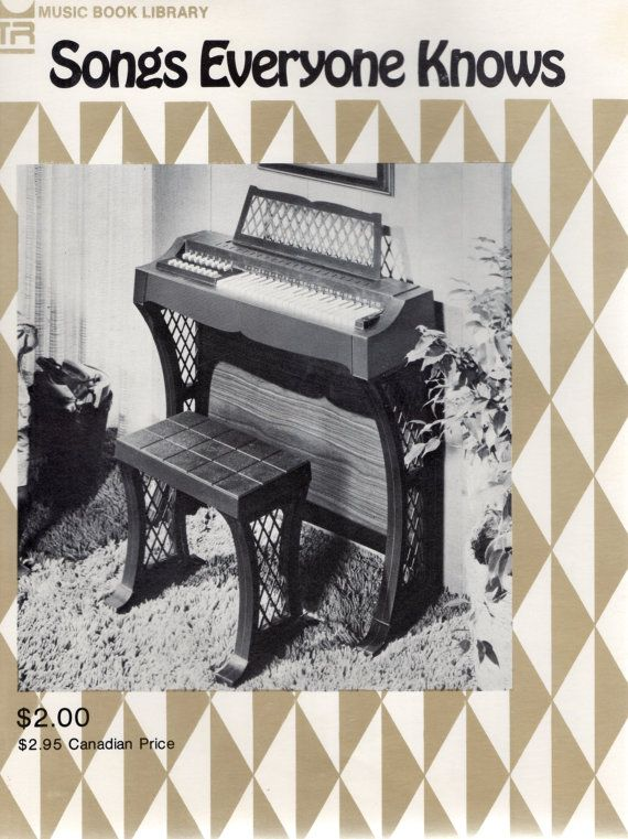 Songs Everyone Knows/Songs For All Chord Organs by GrandmasCellar, $12.00