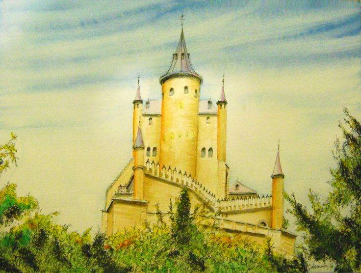 El Alcázar de Segovia. Carlos Calvimontes Rojas