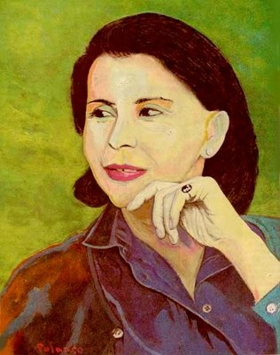 ENRIQUE POLANCO  Portrait of Blanca Varela