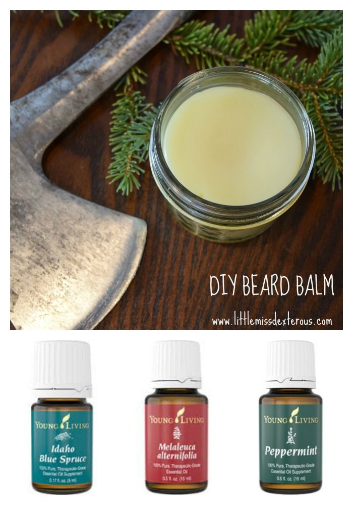 Tell whiskers who's boss with this DIY BEARD BALM.  Soften, moisturize, and tame unruly scrubble!  Easy to make with only 4 ingredients.