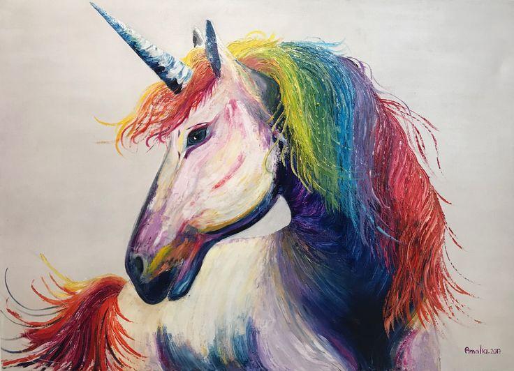 Óleo sobre lienzo por Amalia Vallejo