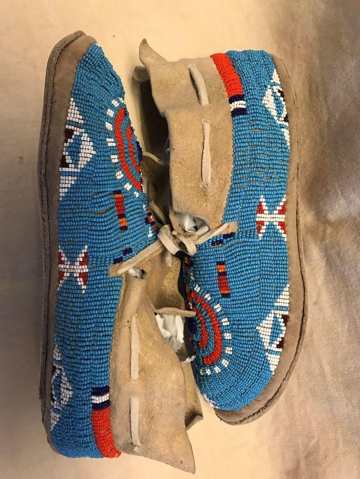 Cheyenne moccasins, view 2