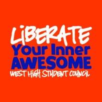 T-shirt design ideas for Student Council T-shirts