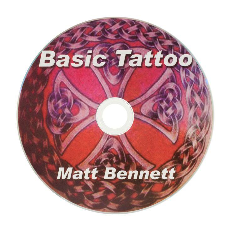 Learn to Tattoo - Basics - Instructional Technique DVD by Matt Bennett