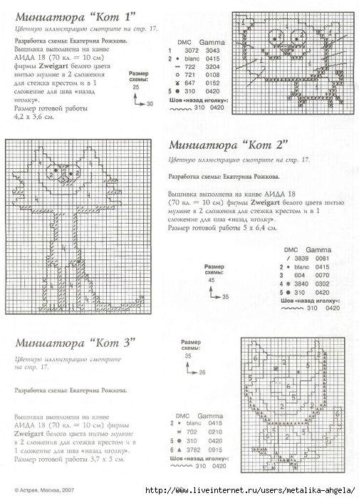 Миниатюра кот 02