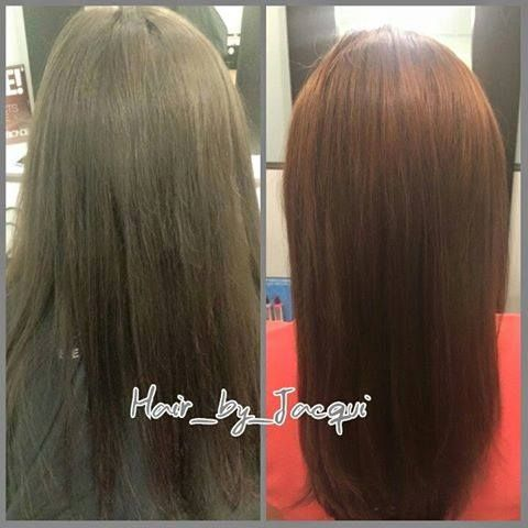 Who says you have to have all over color to appear lighter? This hair transformation was done by Jacqui, a Level 4 stylist & Certified Pureologist. #redken #highlights #longhair #longhairdontcare #arlingtonheights #arlingtonheightssalon http://www.houseofblonde.net/