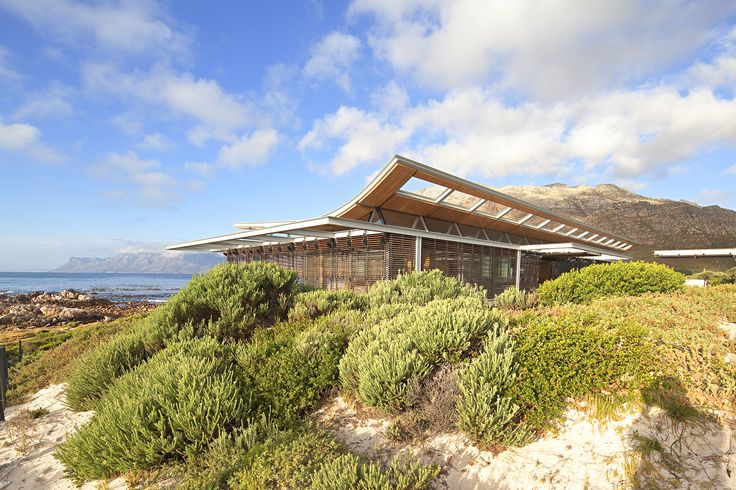 Completed in 2013 in Cape Town, South Africa. Images by Dennis Guichard. This vacation beach house located near Cape Town, South Africa, is carefully crafted to respond directly to the brief from the client, a maverick...