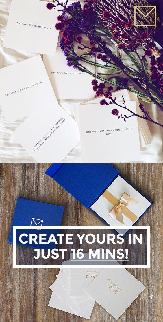 A simple idea that's an unforgettable gift. they'll keep it FOREVER! Get started on your NoteCube now. FREE shipping!