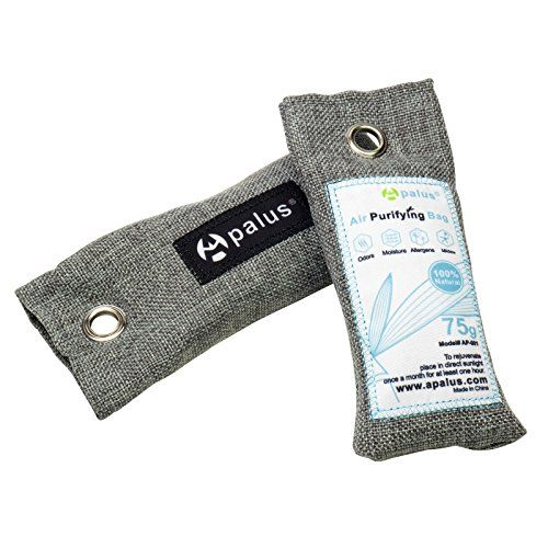 Apalus Mini Air Purifier Bags Bamboo Activated Charcoal