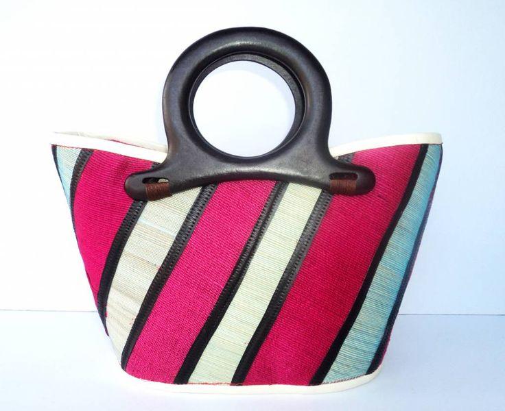 Native Bag Diagonal - Roze