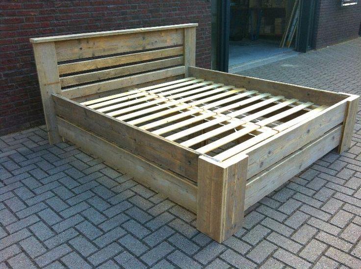 steiger hout bed - Google zoeken